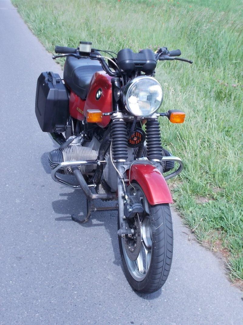 BMW R80, BMW R 80, front