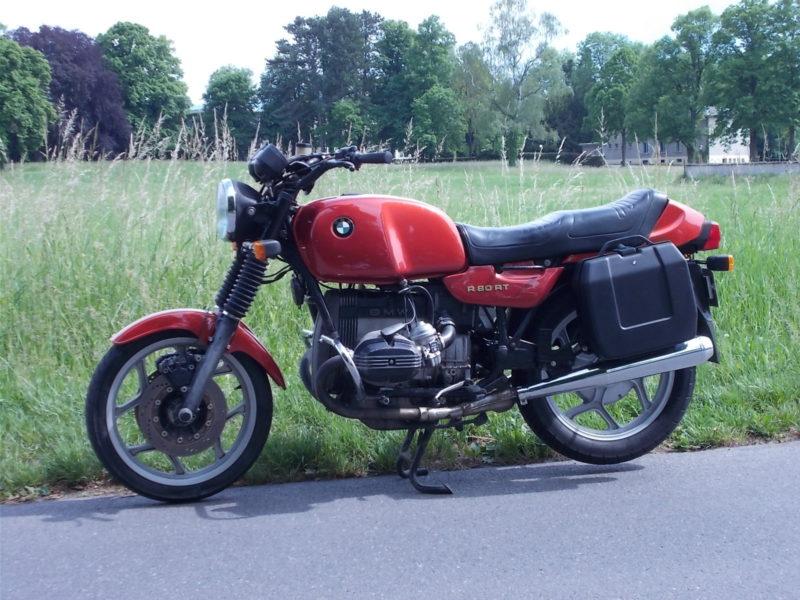 BMW R80, BMW R 80, gauche