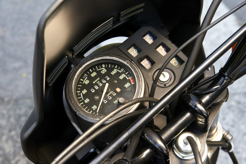 BMW R80GS, BMW R 80 GS compteur